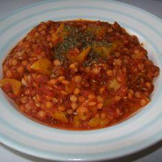 Mediterranes Linsengericht