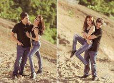 Just like many of you, we are caught in the fever! Here's another engagement shoot of Toni Gonzaga and Paul Soriano by Pat Dy that we totally love. We are smitten over this set that … Prenup Theme, Prenup Outfit, Casual Engagement Outfit, Engagement Couple, Engagement Shoots, Engagement Ideas, Prenup Photos Philippines, Couple Posing, Couple Shoot