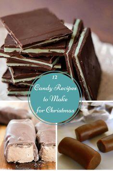 12 homemade candy recipes to make for Christmas, Christmas candy, edible gifts, Christmas time, Christmas recipe