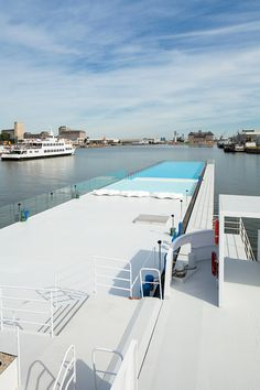 The Badboot Lido Opens in Antwerp | Badboot Lido in Antwerp, Belgium, designed by Sculp (IT) | Bustler.net