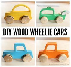 Ana White | Build a Wood Push Car, Truck and Helicopter Toys | Free and Easy DIY Project and Furniture Plans
