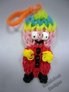 Rainbow Loom Cartman Action Figure/Charm (Southpark) Tutorial