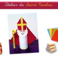 Workshop to celebrate the coming of the patron saint of children and school children. Christmas Crafts For Kids, Christmas Deco, Xmas Crafts, Christmas Time, Diy And Crafts, Arts And Crafts, Saints For Kids, All Saints Day, Seasons Activities