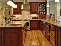 House Plan 137-107 good kitchen layout