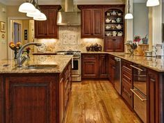 House Plan 137-107 good kitchen layout
