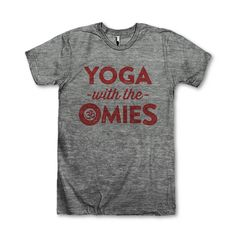 #Yoga With The Omies by AwesomeBestFriendsTs on Etsy
