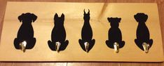 Dog tails coat/hat rack
