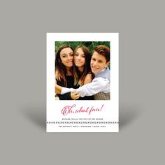 Oh What Fun 5x7 Christmas Card (10 pk)