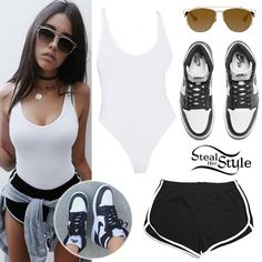 Madison Beer uploaded by Neuza on We Heart It Madison Beer Style, Madison Beer Outfits, Summer Outfits, Casual Outfits, Cute Outfits, Fashion Outfits, School Outfits, Her Style Photo, Estilo Kylie Jenner