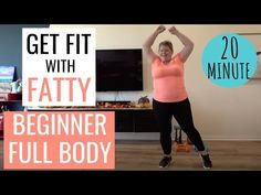 PLUS SIZE Modified Full Body Beginner Workout at Home for Obese   Low Impact