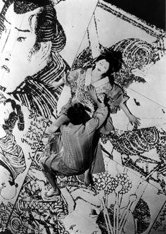 "Iwashita Shima and Nakamura Kichiemon in ""Shinjuten no Amijima (Double Suicide)"" movie, 1969 directed by Shinoda Masahiro Movie Popcorn, Cultural Beliefs, Film Movie, Movies, Films, Japanese Film, Press Photo, Thriller, Monochrome"