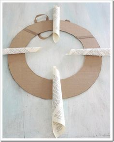 Pottery Barn knock off wreath