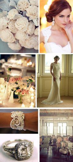A Vintage Wedding Inspiration Board to Inspire Your Elegant Affair