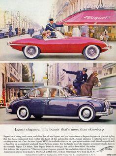 Jaguar Paris publicité luxury car advertising
