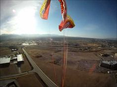 GoPro HD: Paraglider malfunction and reserve parachute ride. pilot: Troy Keys, wing: Nova Factor 2 (small), reserve parachute: Gin Yeti 40m. This was a result of...