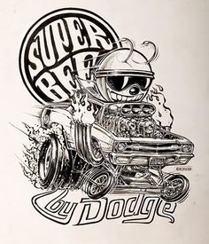 Ed. Roth, Super Bee by Dodge