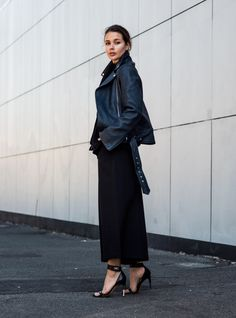 Wearing all black | Harper and Harley
