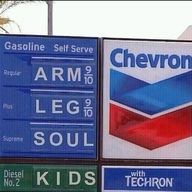 Isnt that the truth,New gas prices!