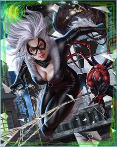 The relationship between Spider-Man and Black Cat deepened and became a romance. He revealed his secret identity to her as a gesture of trust, and since then they have had an on-again, off-again romantic relationship—while still managing to fight once in a while.