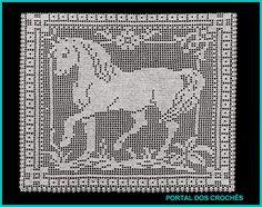 Lindo motivo para tapete, manta para sofá ou cortina.