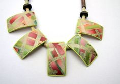 Geometric Necklace by Ghost Shift, via Flickr