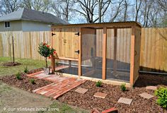 Easy to Build Chicken Coops | our vintage home love