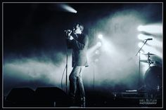Jim Reid. The Jesus And Mary Chain. Photo taken at Cosmosis Festival, Manchester 2016