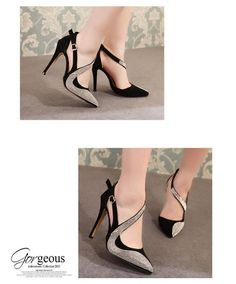 Cheap New 2015 Fashion Sexy Women Pumps Spring Summer Vintage Rhinestone  Ultra High Heels Shoes Women Pointed Toe Sandals For Women Bass Shoes  Skechers ... 2e14eef1317a