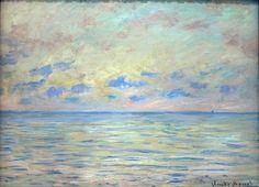 alive-alive-oh:    Claude Monet, Marine near Étretat, 1882