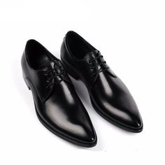 """gentclothes: """"Black Leather Formal Plain-Toe Shoes - Use code TUMBLR10 to get 10% OFF! """""""