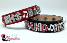 Show pride for your highschool band! #bandgeek #musiclover #highschoolband #charmsations