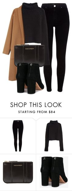 """Untitled #6426"" by laurenmboot ❤ liked on Polyvore featuring River Island, T By Alexander Wang, Comme des Garçons and Aquazzura"