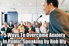 75% of the population has a fear of public speaking. Yet speaking in front of a group can advance your career and build your reputation as an expert in your field. So what can you do? Here are a few tips to alleviate the fear and make you a more confident presenter: http://www.internetmasterycenter.com/blog/2013/03/19/5-ways-to-overcome-anxiety-in-public-speaking-by-bob-bly/