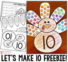 Fall is a great time of year in the primary classroom! Click through to see the great math and literacy centers you can use with your preschool, Kindergarten, or 1st grade students! This post has a particular emphasis on Thanksgiving games and centers for Kindergarten. Click through to see the FREE downloads, and also check out the many skills covered - beginning sounds, making 10, one less, shapes, counting, 1:1 correspondence, ending sounds, CVC words, and more! Great for October or…