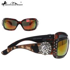 SUNGLASS - BK/CL (FMSGS-2303CL)  See more at http://www.montanawest.ca/collections/sunglasses