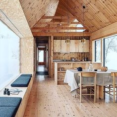 Yurt Living, Casas Containers, Cabin Design, House Layouts, House Goals, Architecture, My Dream Home, Tiny House, Building A House