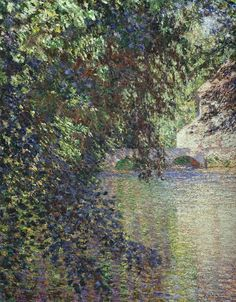 Moulin de Limetz (C Monet - W 1210),1888.