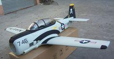 T-28 Trojan RC Plane