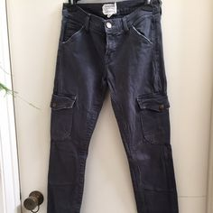 Current Elliot cargo jeans OBO!! Only wore a few times, great condition!! Current/Elliott Jeans Skinny