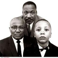 Martin Luther King, Martin Luther King Jr., Martin Luther King III, 1963