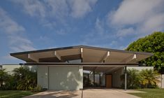 One day, I will own one of these beautiful Eichler homes in Orange.  One day...