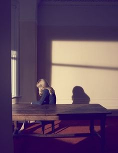 Hopper inspired photography ; Claudia by Camilla Akrans.