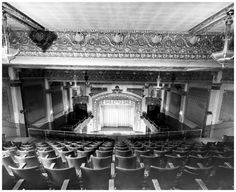 Here is the inside of the old Imperial on Bank Street, circa This time looking towards the stage, but once again showing the opulence of these old palaces. Capital City, Back In The Day, Old Things, Louvre, Palaces, Street, Building, Travel, Viajes