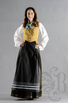 Folk Costume, Costumes, Norway, High Waisted Skirt, That Look, Culture, Traditional, Detail, Lady