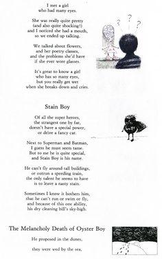 Tim Burton Poems, Boy Character, English Class, Melancholy, Death, Characters, Illustration, Illustrations