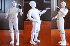 разворот робота из бумаги - Поиск в Google
