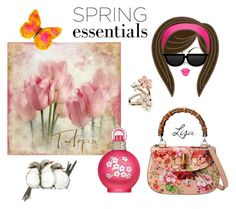 """Spring Scent"" by coolmommy44 ❤ liked on Polyvore featuring beauty, Gucci, Britney Spears, Accessorize, WALL, polyvoreeditorial, polyvorecontest and springperfume"