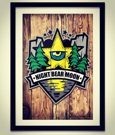 Polar bear snowboarder 'SNUK' (version 2) night bear star graphic design. Designed by DOLDOL.  #Snowboard #skateboard #sk8 #longboard #surf #엠블럼 #star #로고 #graphic #extreme #emblem #characterdesign #doldol #graphicer #mtb  #스노우보드 #스노우보드스티커 #롱보드 #별 #캐릭터디자인 #북극곰 #스노우 #illust #graffiti #그래피티 #헬멧스티커 #돌돌디자인 #doldol #polar #snowboardsticker #polarbear