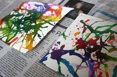 Abstracte kunstwerkjes maken met je kinderen - Plazilla.com