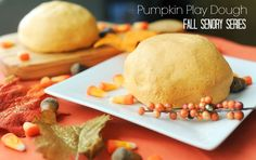 pumpkin spice play dough sensory activities to help kids learn and improve in the classroom. Sensory activities help fine motor and coordination. Pumpkin Fluff, Scary Pumpkin, Pumpkin Spice, Sensory Toys, Sensory Activities, Toddler Activities, Toddler Preschool, Easy Playdough Recipe, Pumpkin Leaves